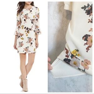 Sanctuary Bell Sleeves Floral Daytime Party Dress